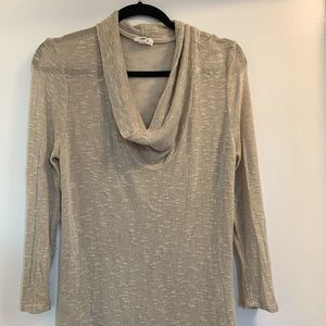 JOIE | Soft | Tan Cowl Neck Sweater